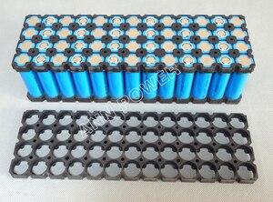 Image 2 - Freies Verschiffen 18650 batteriehalter 13*4 52 löcher für 48 v 10ah li ion akku Flameresistant material Sicherheit anti vibration
