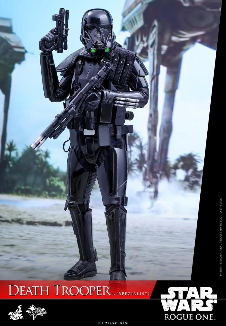 Hottoys HT 1/6 MMS385 <font><b>Rogue</b></font> <font><b>One</b></font>: A <font><b>Star</b></font> <font><b>Wars</b></font> Story Death Trooper Specialist <font><b>Action</b></font> <font><b>Figure</b></font> Collections Model Hot Toys With Box