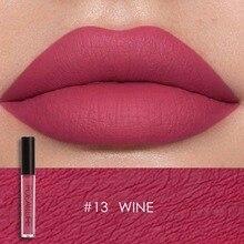 FOCALLURE Waterproof Liquid Lipstick Velvet Lip Tint Sexy Red Lip