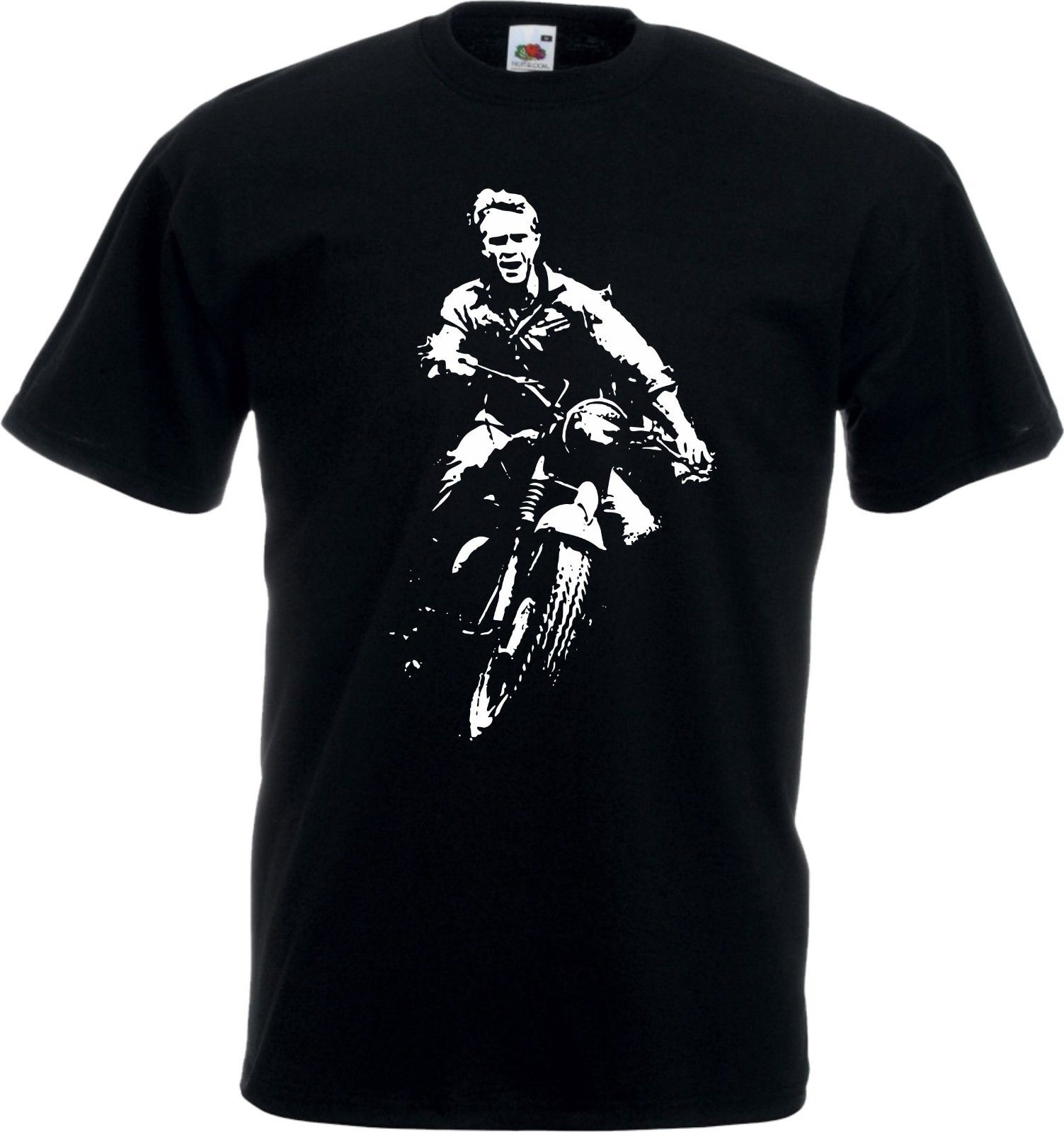 2018 New Cool T-shirt Steve McQueen The Great Escape T-shirt - Classic Brit Film, All Colours & Sizes