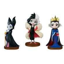 Mini Princess Dolls Rapunzel Jasmine Tiana PVC Figures Collectible Model Toys NT0