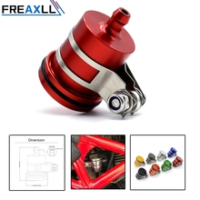 FREAXLL Motorcycle Accessories Brake Fluid Reservoir Clutch Tank Oil Cup For Yamaha MT09 MT-09 FZ09 FZ-09