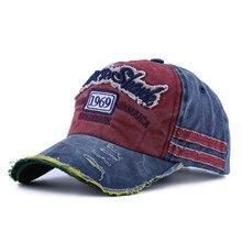a4f02b0d510 2018 Vintage Mens Tactical Baseball Cap Snapback Dad Hat Letter Printed Hip  Hop Hats Motorcycle Trucker