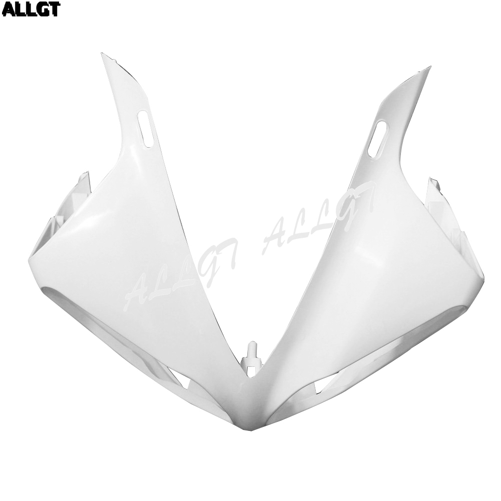 Unpainted Raw ABS Front Upper Nose Fairing for Yamaha YZF R1 2009 2010 2011 2012