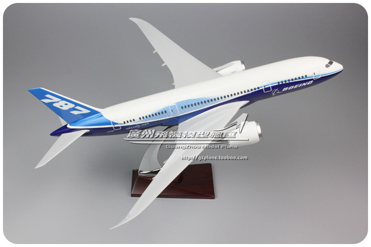 43cm Resin Prototype Aircraft Model B787 Airlines Airplane Model Boeing 787 Airbus Airways Model Stand Craft Aviation Collection polished chrome wall mount waterfall bath sink mixer faucet dual handle bathroom basin hot and cold water taps