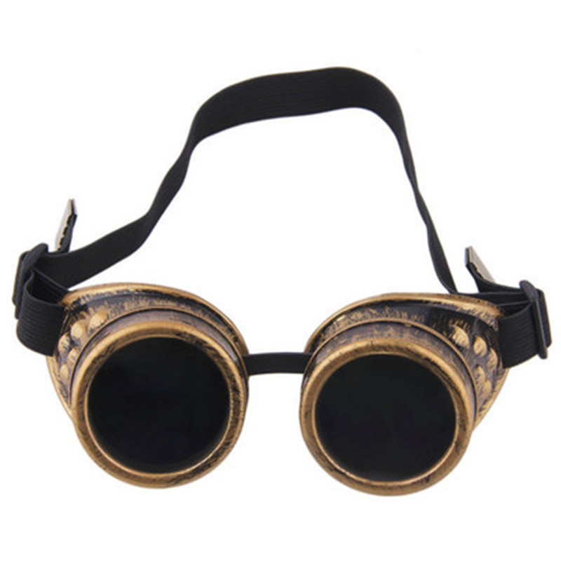 Steampunk Sunglasses Round Sunglasses Hippie Vintage Retro Glasses cosplay Cosplay Party Glasses Men and Women Applicable