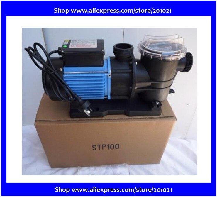 Pompe de filtration pompe de circulation d'eau LX STP100 750 W 1HP pour piscine d'étang de poissons de mer