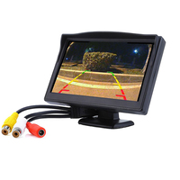 5 Inch Color Car Monitor TFT LCD Color Video DVD Player Car Audio Auto For Car