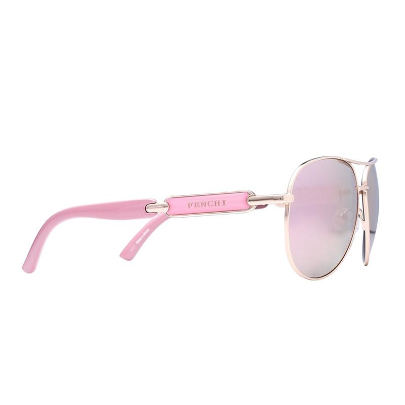 FONHCOO vintage fashion sunglasses wanita logam pria kacamata driver - Aksesori pakaian - Foto 4
