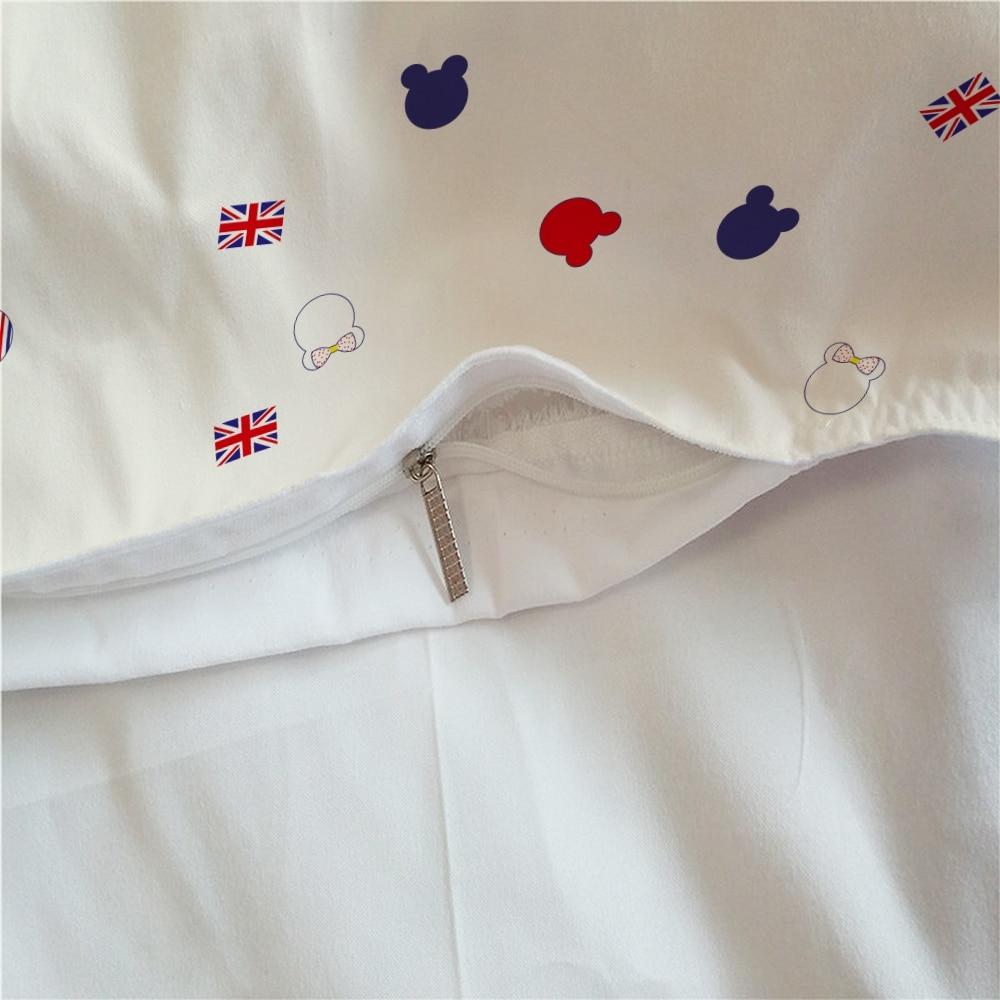 Image 5 - Disney Cartoon Mickey Bedding Set Duvet Cover Bedclothes Twin queen king size 3pcs Home Textiles dropship-in Bedding Sets from Home & Garden