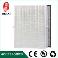 חמה למכירה HJZ2202 לבן אבק hepa מסנני אוויר + מסנן פחם פעיל, יעיל גבוה מטהר אוויר מרוכבים חלקי KJF2105T