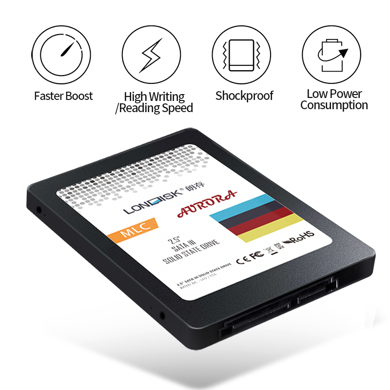 LonDisk oryginalny dysk SSD 120GB 240GB 480GB 960GB 2.5 cala dysk twardy SATA III dysk twardy HD SSD Notebook PC 120 240 480 960G wewnętrzny stały