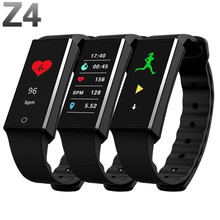 font b 2018 b font New Z4 Fitness Tracker Wristband Heart Rate Monitor Smart Band