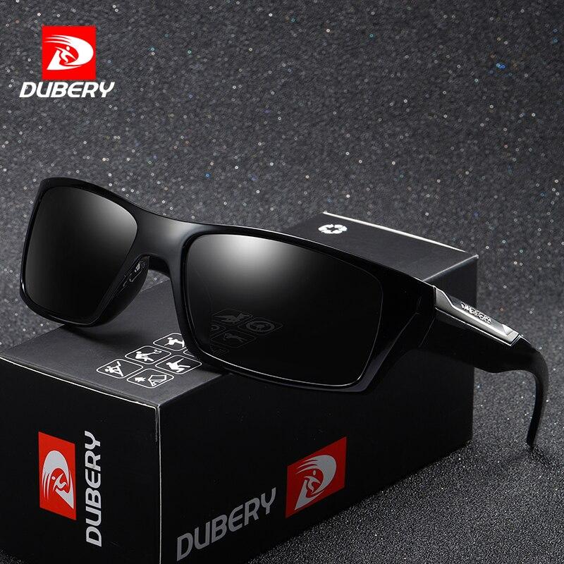 DUBERY Marke Design Polarisierte Sonnenbrille Männer Driving Shades Männlichen Retro Sonnenbrille Für Männer Sommer Spiegel Mode UV400 Oculos