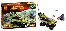 Bela 10238 Super Heroes Series Captain America Hydra Minifigures Building Block Minifigure Toys Best Toys