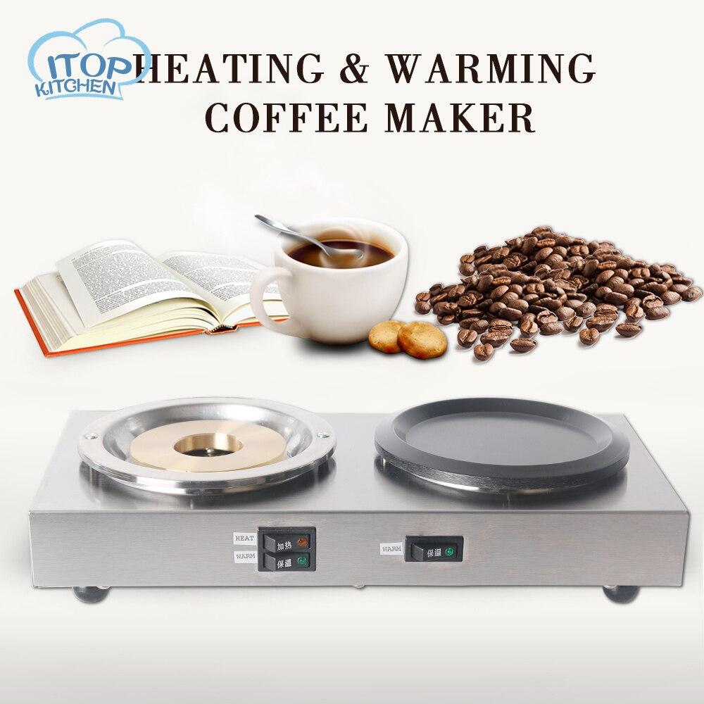 Cuisinière électrique Double tête différentes fonctions cuisinière petit chauffe-café moka chauffage plaques chaudes café lait Machine 220 V/50Hz