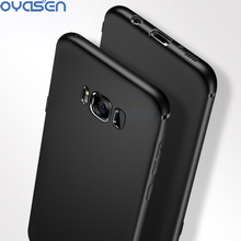 Luxury Soft Silicone Matte Phone Case For Samsung Galaxy Note 8 / S8 / S8 Plus Ultra-Thin Full Protective TPU Phone Cover Shell