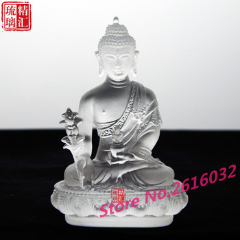 Manufacturers selling colorful seven color glaze Buddha  Tantric Buddhism supplies seven pharmacists #1005