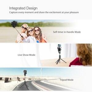 Image 3 - BlitzWolf bluetooth trépied tenu dans la main Selfie bâton extensible monopode pour Gopro 5 6 7 1/4 caméra de sport pour Huawei Smartphones