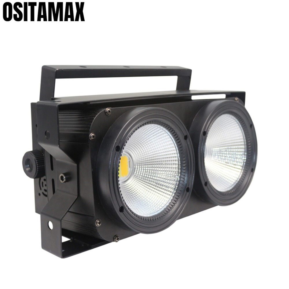 LED COB 2 Eyes Blinder Light 2x100w Warm White| Cood White Flicker Free Wash Stage Lighting  for Studio Audience TV FilmLED COB 2 Eyes Blinder Light 2x100w Warm White| Cood White Flicker Free Wash Stage Lighting  for Studio Audience TV Film
