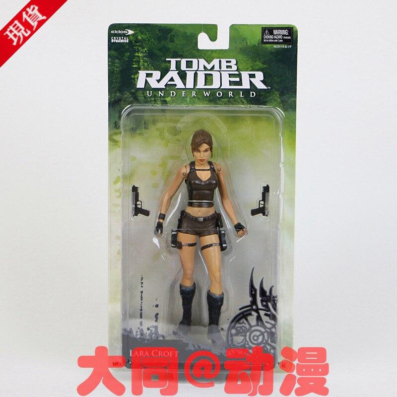 Новые горячие 18 см Tomb Raider Лара Крофт коллекционеров фигурку игрушки Рождество подарок кукла