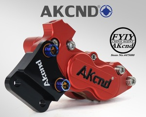 Image 2 - AKCND Motorcycle modifivation CNC aluminim alliy 40mm brake caliper bracket For Hinda SCR 110 SDH110T FI DIO RC125