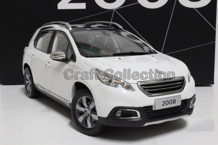 New White 1/18 Peugeot 2008 SUV Diecast Model Car Alloy Toy Model Sport Combi Sport Wagon 3 Colors sport vision w15060383776