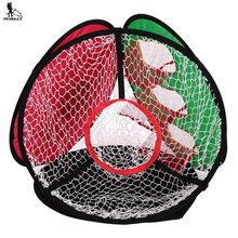 RUNACC Golf Training Chipping Net Detachable Golf Driving Net Multi-functional Golf Hitting Practice Net with Storage Bag(China)