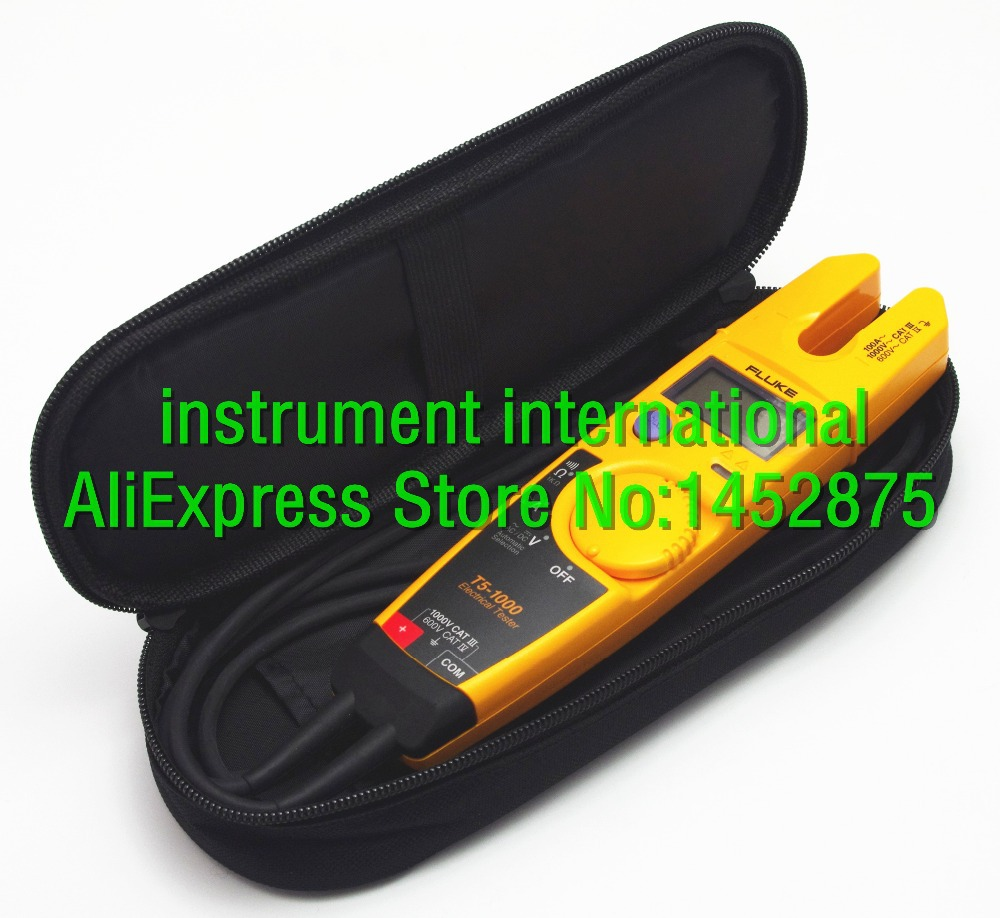 Hioki Double Clamp Meter Ac 3280 10f 1000a Flexible Current Kch Carry Soft Case Bag Use For Fluke Sanwa Kyoritsu Uni 1000x918