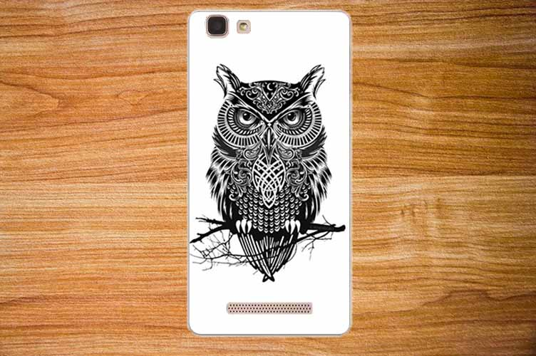 For cubot rainbow Case Cover Diy Painting Colored Owl Tiger Rose - Mobile Phone Accessories and Parts - Photo 2