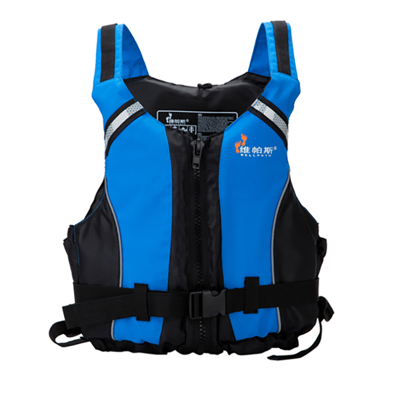 Waterproof Nylon Rescue Jacket Adult Swimming Life Vest Buoyancy First Aid Kayak Fishing Life Jacket Vest for Drifting Boating 2 colors child life vest jackets fishing life saving vest inflatable life jacket for boating and drifting water skiing upstream