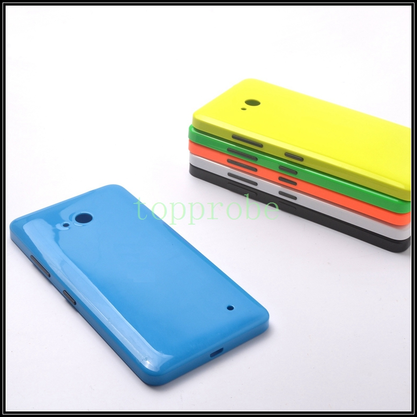 100% genuine rear housing for Nokia 640 back battery door cover for Microsoft lumia 640 rear cover case with 1x screen film free(China)