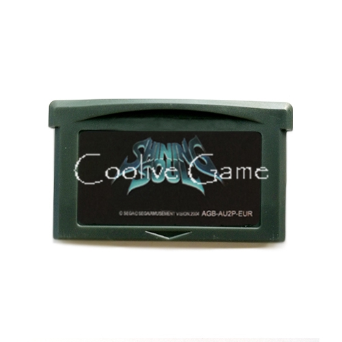 Shining Soul USA Version for 32 Bit Handheld Console Video Game Cartridge Console Card