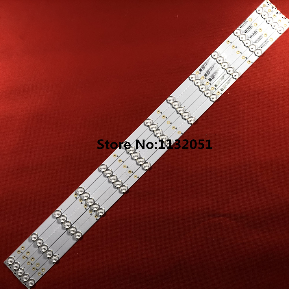Strip GJ-2K16-430-D512-V4 For 43PUS6401/12 43PUS6101/12 TPT430U3-EQYSHM.G 1pcs=12led
