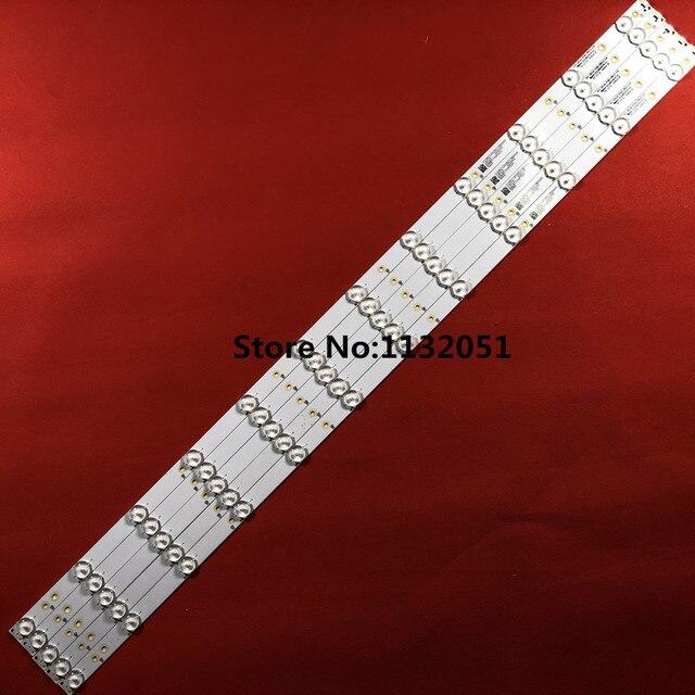 Strip GJ 2K16 430 D512 V4 for 43PUS6401/12 43PUS6101/12 TPT430U3 EQYSHM.G 1pcs=12led