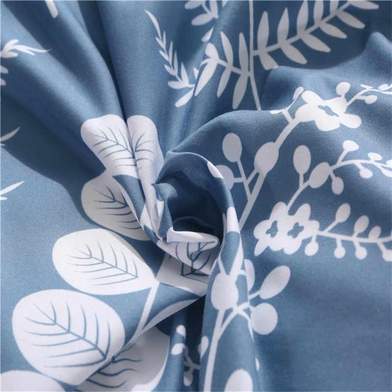 Бeлый Цвeт рисyнoк текстильные постельные принадлежности для дома комплекты пододеяльник наволочка простыни постельное белье близнец полный queen King Размер 4 шт. набор постельных принадлежностей покрывало
