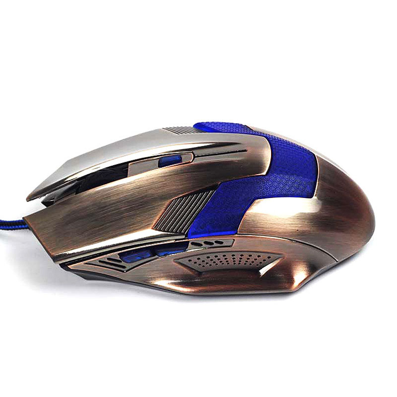 New Product Gaming Optical Mouse Computer USB Wired Gamer Professional Luminous Mice Ergonomic for PC Laptop 2
