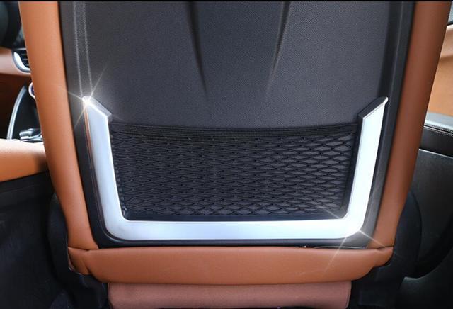 For Alfa Romeo Giulia ABS Chrome Seat Back Frame Cover Trim - Alfa romeo car parts