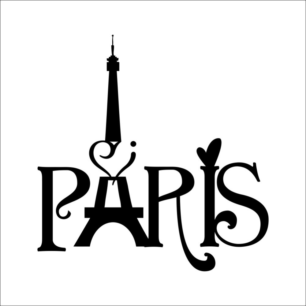 Hot new home decoration paris eiffel tower carved living room hot new home decoration paris eiffel tower carved living room bedroom background wall 3d sticker wholesale waterproof removable in wall stickers from home amipublicfo Gallery