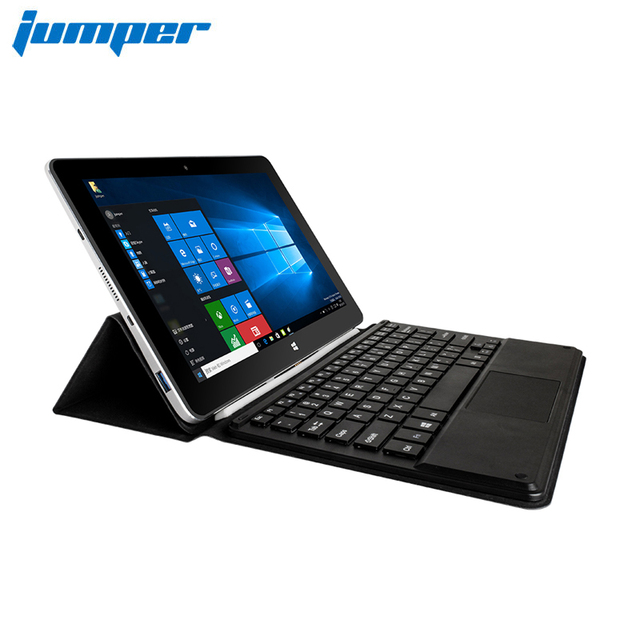 Jumper EZpad 6 M6 Notebook Tablet PC 2 In 1 10.8 Inch Windows 10 Laptop IPS Screen Intel Atom Z8350 2GB RAM 32 ROM Metal Shell