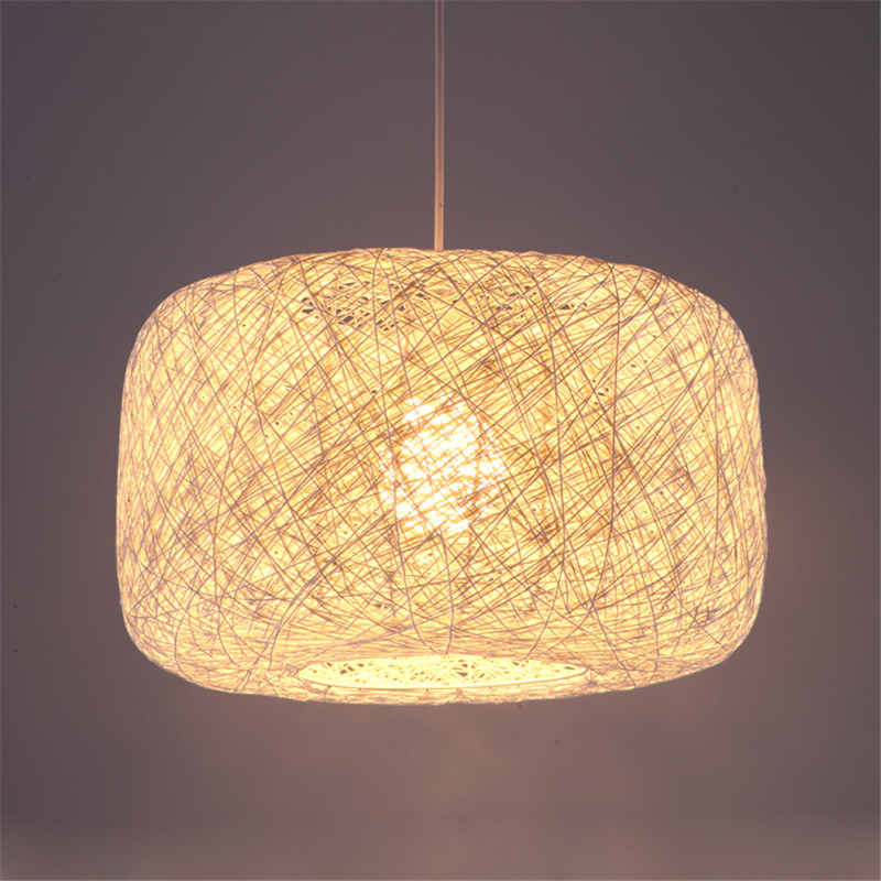 BDBQBL 40W Max Wattage Birds Nest  Pendant Lights Wicker Vintage Pendant Lamp AC 90V-240V LED Hanging Lamp Bedroom HanglampBDBQBL 40W Max Wattage Birds Nest  Pendant Lights Wicker Vintage Pendant Lamp AC 90V-240V LED Hanging Lamp Bedroom Hanglamp