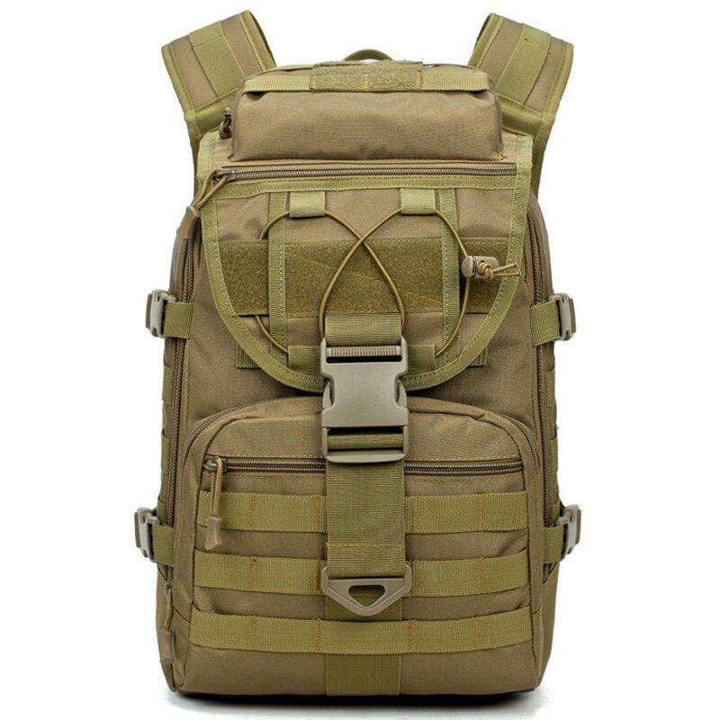 Sacs d'assaut de sacs à dos d'homme de grande capacité paquet extérieur de 3P Edc Molle pour le sac de chasse de Camping de Trekking