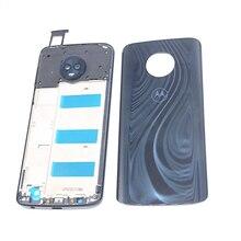 Оригинальный чехол с полным покрытием корпуса для Motorola Moto G6 Plus xt1926 (лицевая панель/средняя рамка + Задняя панель + задняя крышка аккумулятора)