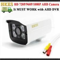 4pcs HD 1080P 960P 720P CCTV Surveillance Security Outdoor Indoor Bullet Day Night Vision AHD Camera