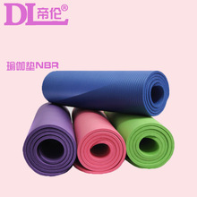 1830*610*10mm Yoga Mat with Position Line Non Slip Carpet Mat For Beginner Environmental Fitness Gymnastics Mats 10mm extended nbr yoga mat widened yoga with position line non slip carpet mat for beginner environmental fitness gymnastics mat