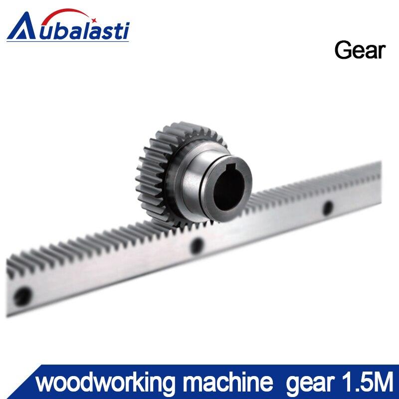 Woodworking Machine  Gear 1.5M Inside Fix Hole Diameter 19mm Tooth 30  Height25mm