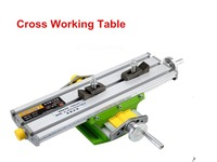 Mini Multifunctional Cross Working Table Worktable For Drilling Milling Machine Bench Vise Mechanic Tools 6330