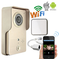 Free Shipping POE Waterproof Wireless Wifi Doorbell Camera for Android IOS Phone Remote View Unlock Video Intercom + Indoor Bell