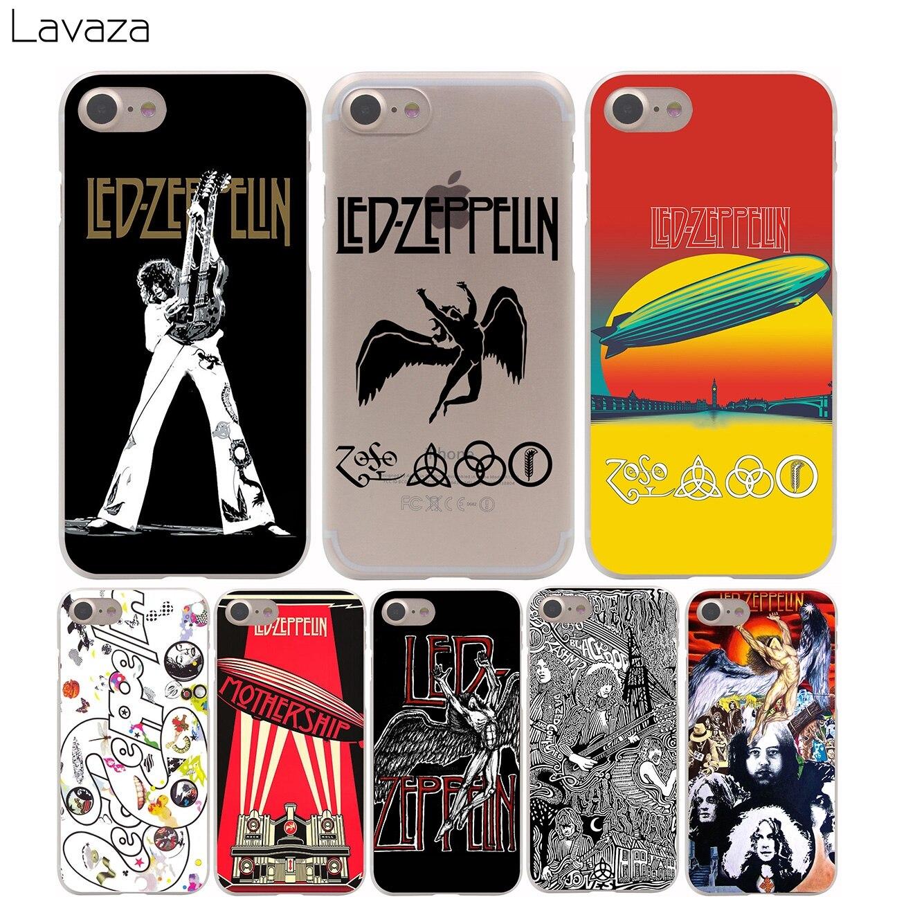 reputable site 6d1e0 0111a Lavaza Led Zeppelin Cover Case for iPhone X 10 8 7 Plus 6 6S Plus 5 5S SE  5C 4 4S Cases on Aliexpress.com   Alibaba Group