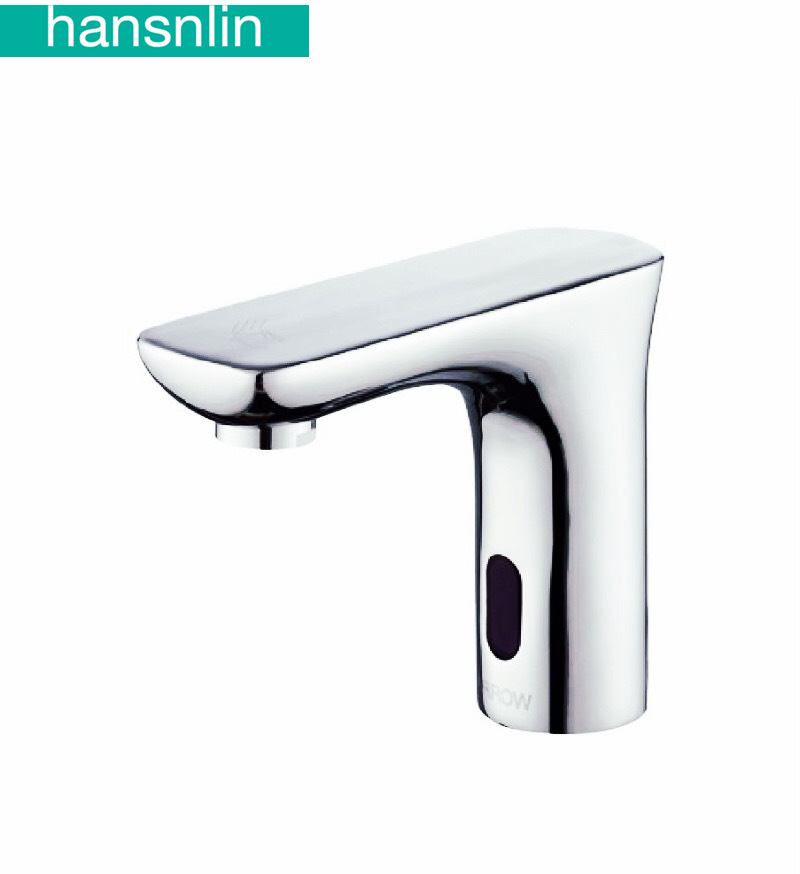 automatic sensor basin faucet sense mixer smart Inductive faucets electric Hand touch water tap griferia bano